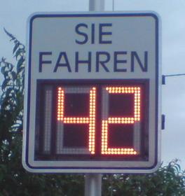Auswertung der Verkehrszählung in der Anderbachstraße 2. Maiwoche