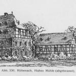 Kuffner Mühle auch Hahns Mühle genannt