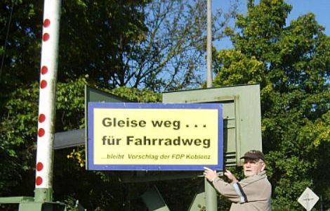 BI Kämpft für  Freistellung Bahnstrecke Lützel – Bassenheim