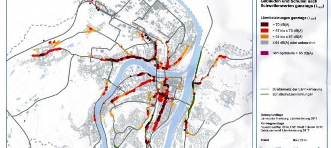 Lärmaktionsplan Koblenz (neu)