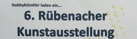 Einladung zur 6. Rübenacher Kunstausstellung